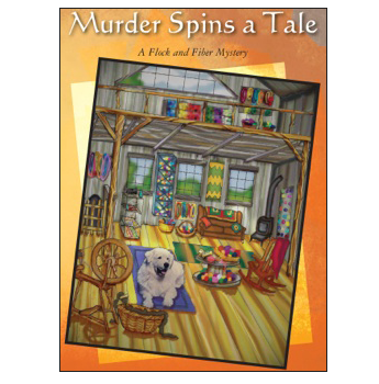 Murder Spins a Tale Book Cover